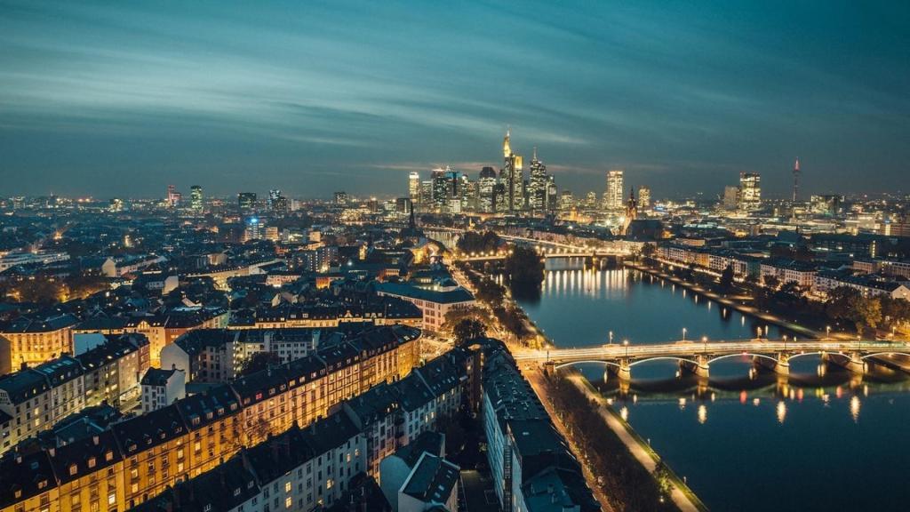 霓虹灯下最美的城市夜景