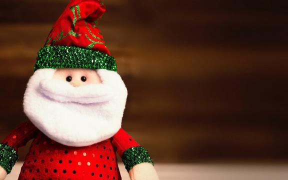 圣诞节的精美饰品