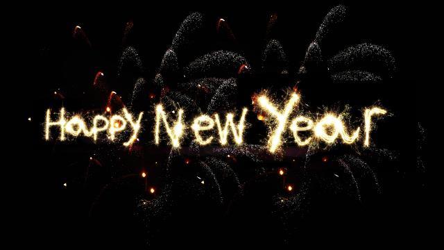 2020新年快乐创意英文