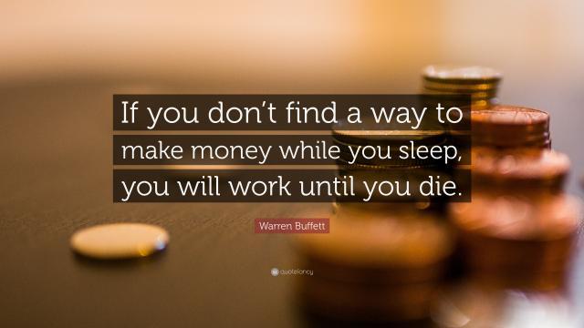 沃伦·巴菲特关于财富的经典名言