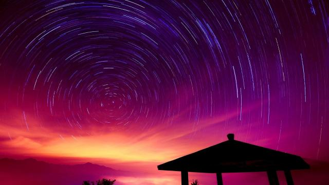 天蝎座流星雨