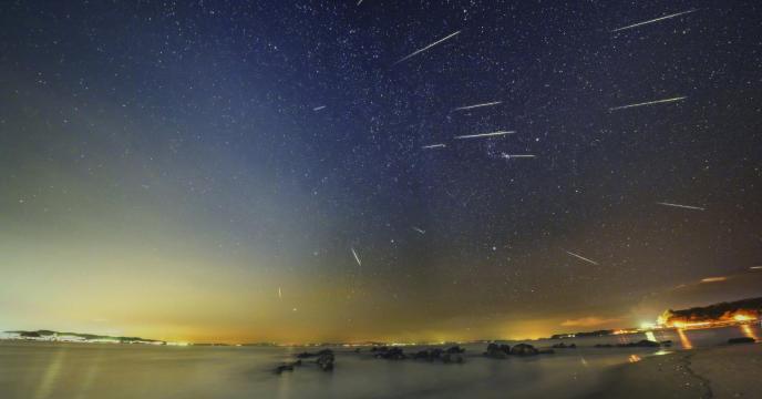 双子座流星雨来了