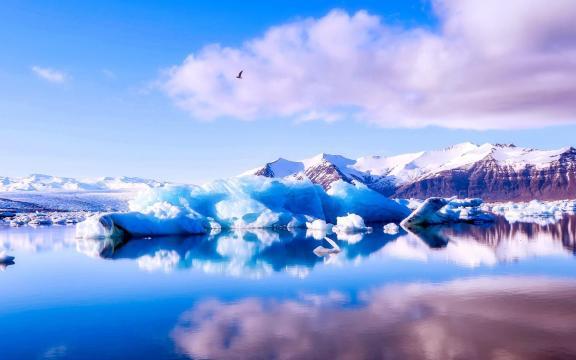 冬季里的唯美雪景