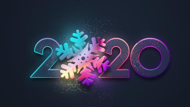 2020鼠年创意艺术字