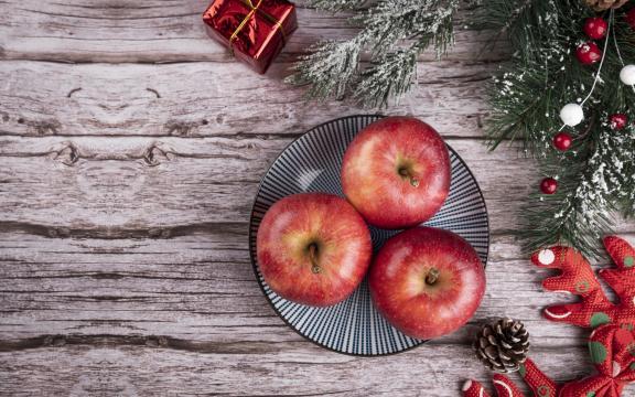 平安夜送一颗最甜的苹果