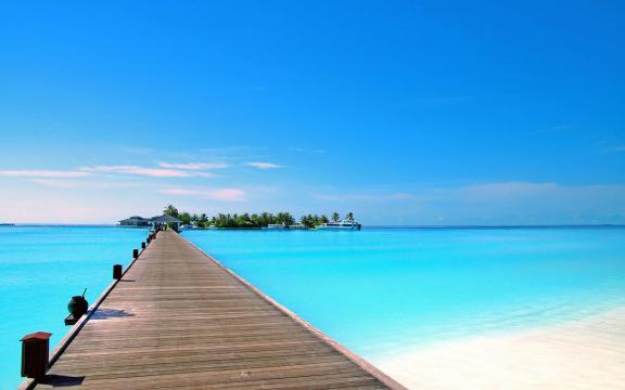 夏日度假好去处:海滩