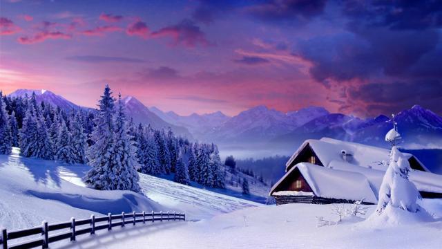 感受雪的魅力