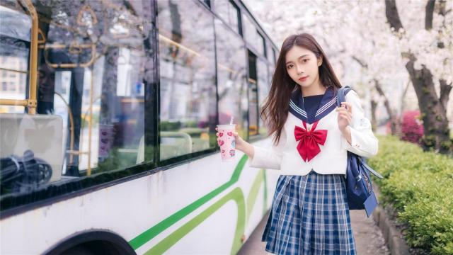 甜美可爱少女jk制服迷人写真
