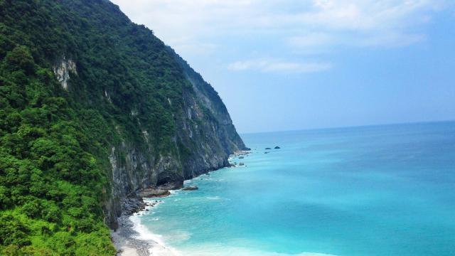 台湾花莲清水断崖