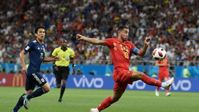 比利时3-2淘汰日本