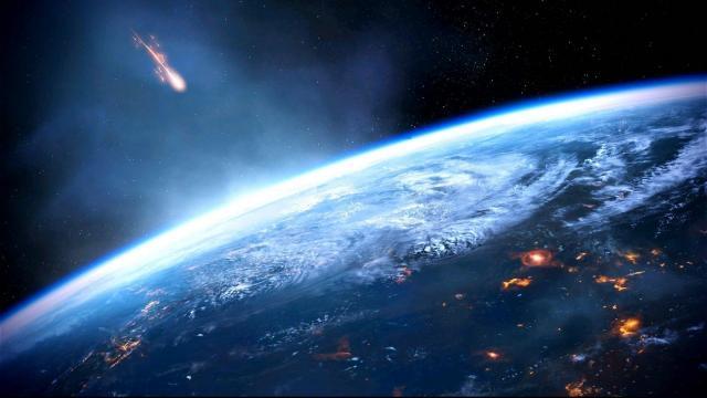 带你认识天上坠落下来的陨石
