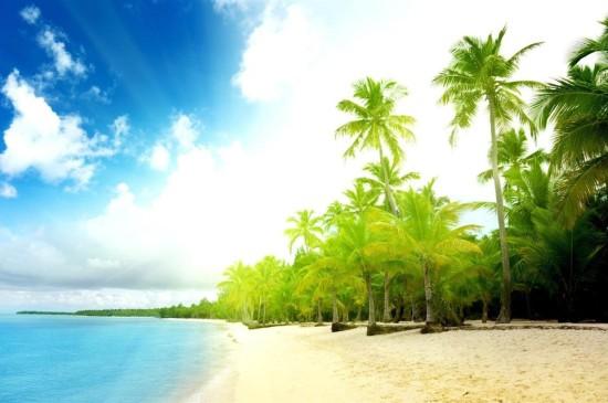 海边清新自然风景