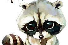 超萌动物插画设计