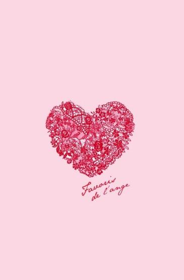 粉色可爱爱心
