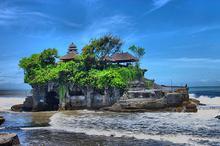 巴厘岛海神庙景观