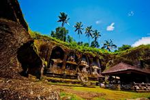 巴厘岛圣泉庙风光