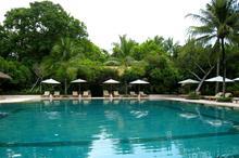 巴厘岛努沙杜瓦酒店景观