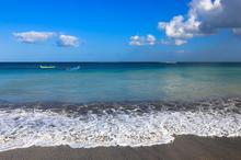 巴厘岛库塔海滩大海风光