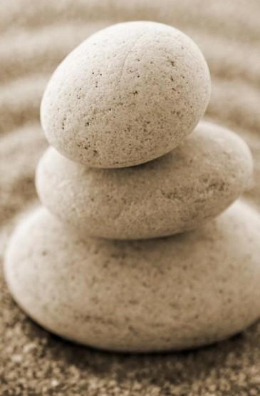 石头唯美意境