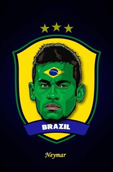 世界杯卡通人物