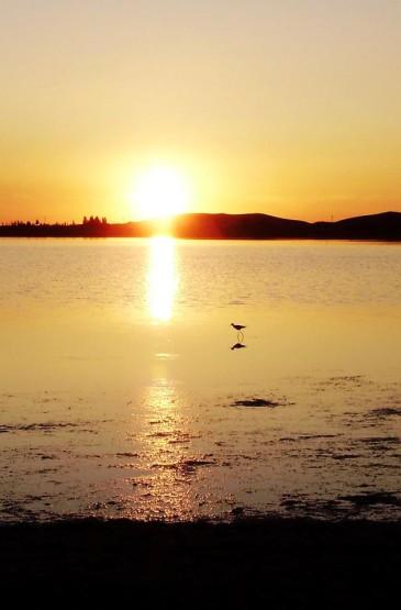 日落晚霞风景