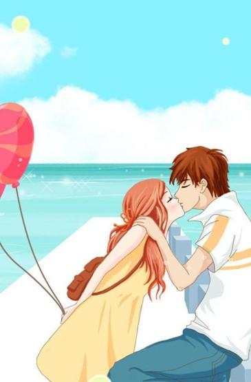浪漫甜蜜情侣