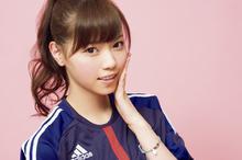 日本甜美足球宝贝