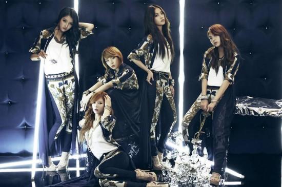 韩国4Minute组合