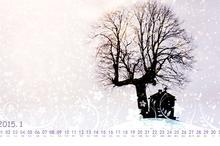 2015年1月日历