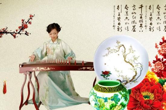 中国风古韵美女