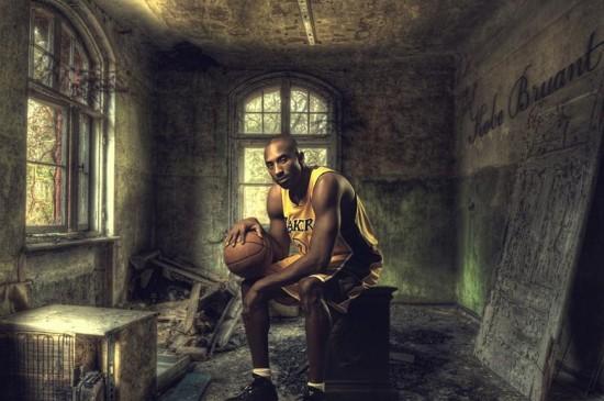 NBA篮球运动员科比