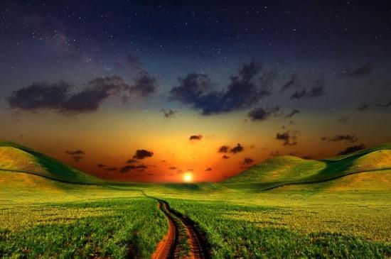 各种色彩的自然风景壁纸