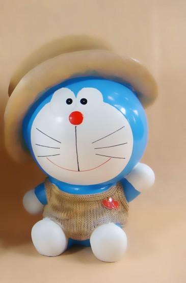 哆啦A梦玩具手机壁纸