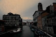 冬天威尼斯唯美早晨图片