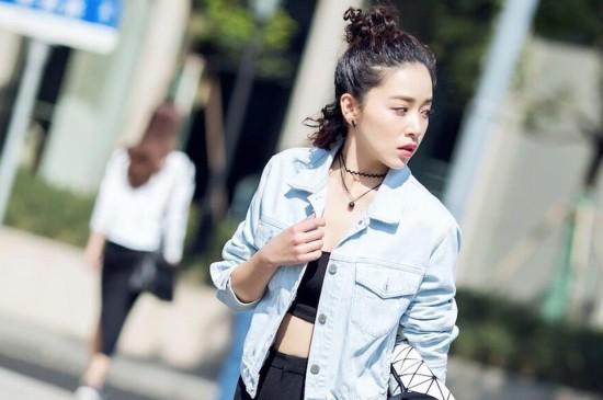 阚清子时尚街拍