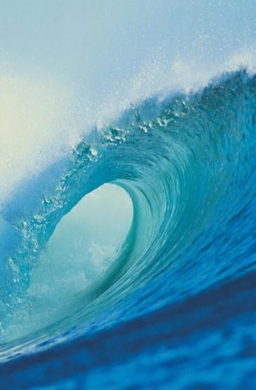 激情的海浪