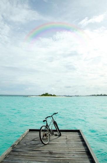 蔚蓝大海风景