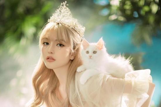 森系仙气公主周扬青灵动气质梦幻诱人写真
