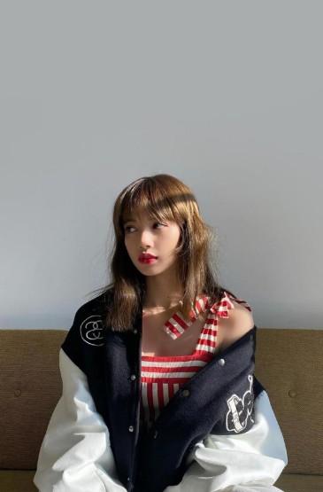 甜美女神LISA可爱清新写真