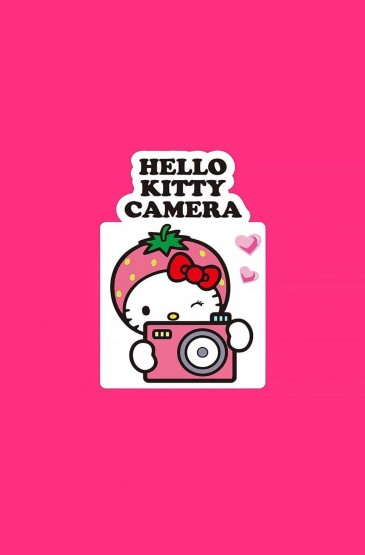 hello kitty粉色系iPhone7壁纸