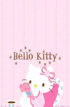 可爱粉色系凯蒂猫