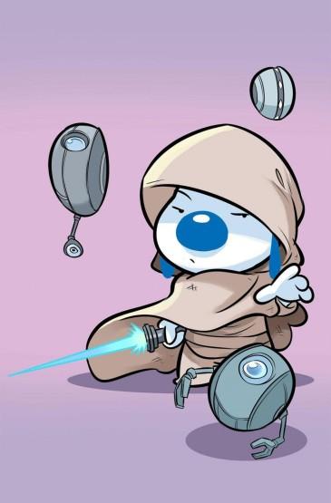 辛巴狗未来战士系列卡通插画