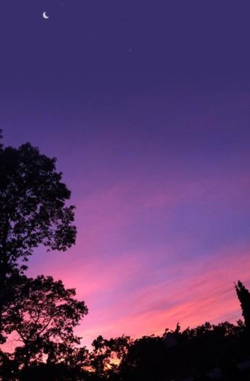 美丽多变的天空
