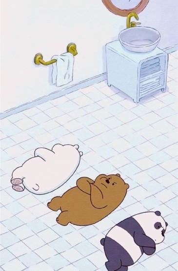 咱们裸熊卡通壁纸