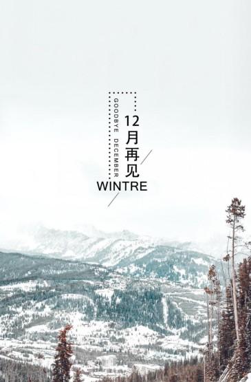 再见寒冷的十二月