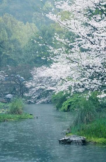 流水与春色
