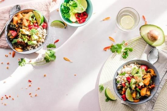 精致唯美小清新蔬菜沙拉