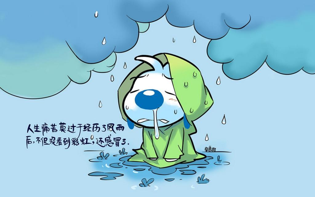 辛巴狗文字语录创意卡通