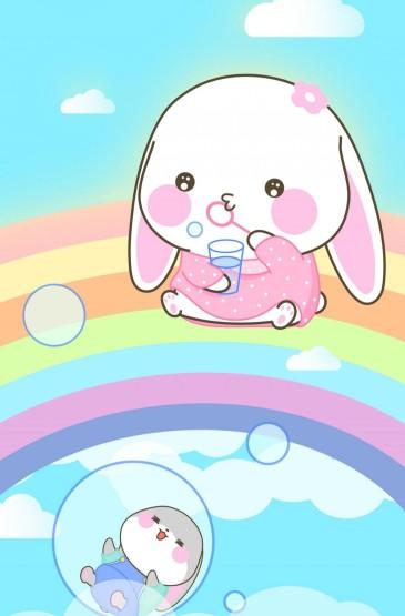 甜兔酱和泥萌兔