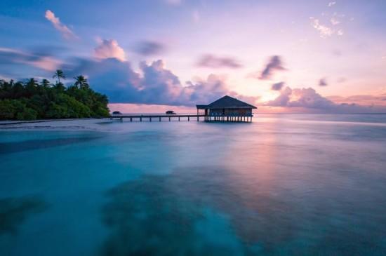 马尔代夫曼德芙岛自然风光